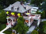 Aerial view of Olde Square Inn Mount Joy PA Lancaster County