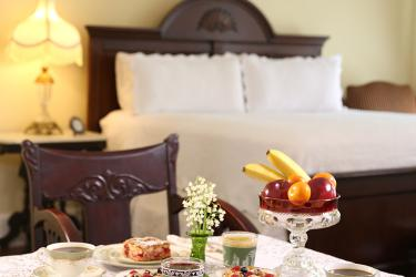 Romantic continental breakfast in the privacy of your room