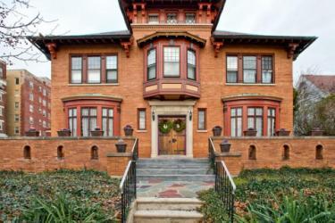 Exterior of Benner Mansion