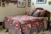 Red Cardinal Bluebird Guest Room